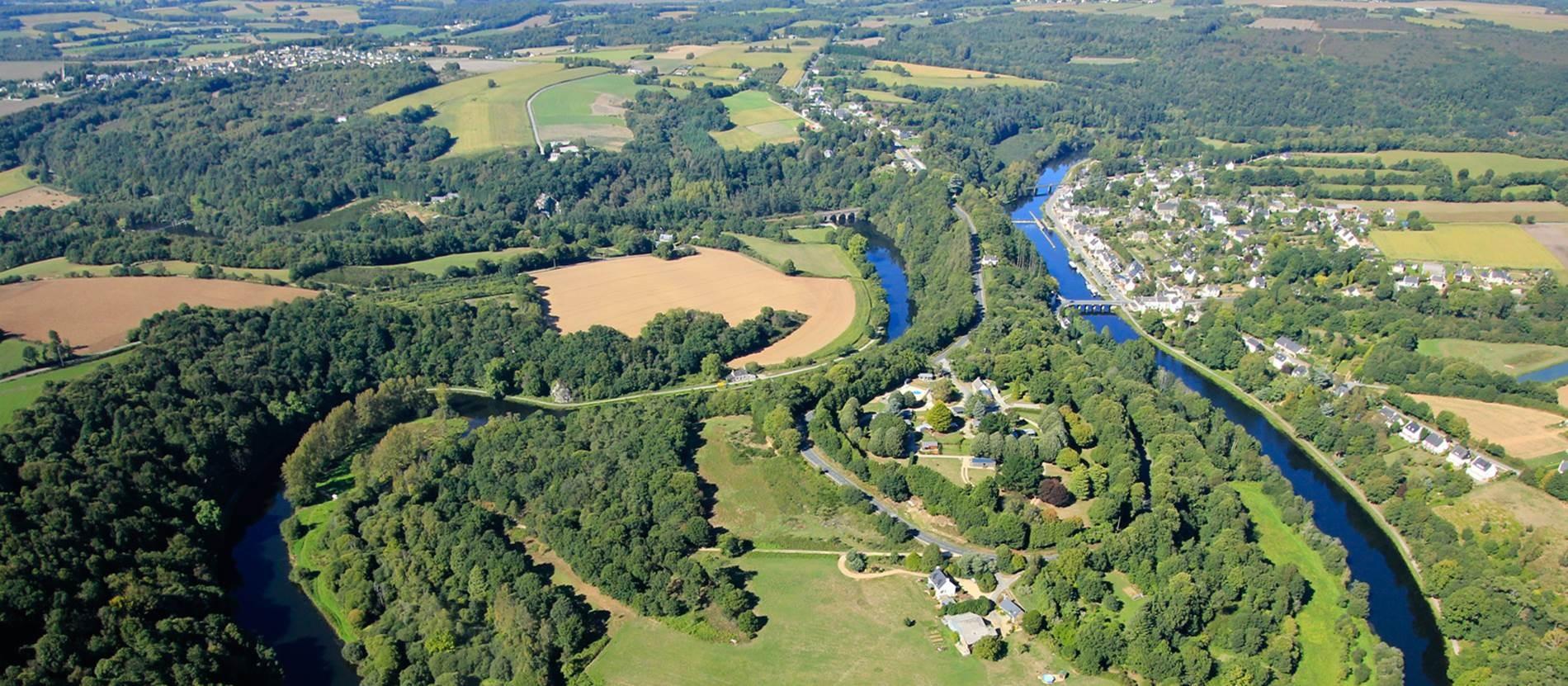 La canalisation du Blavet de Pontivy à Hennebont