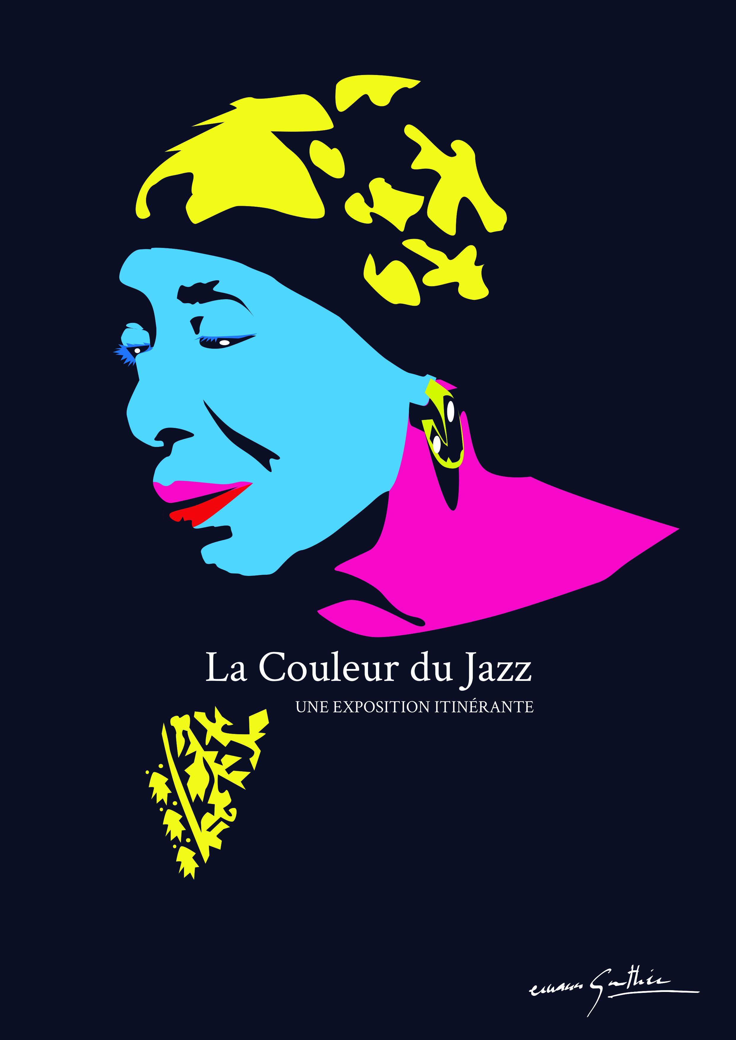 La couleur du jazz d'Erwann Gauthier
