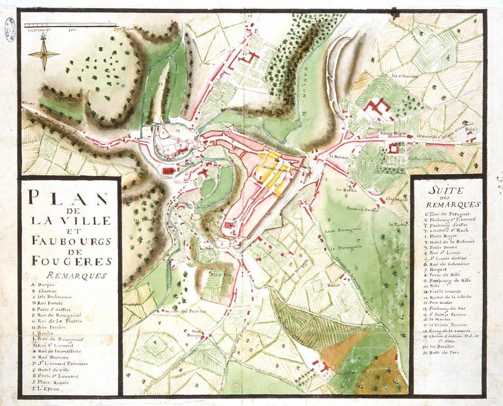 Formation des villes et villages en Bretagne au Moyen-Age