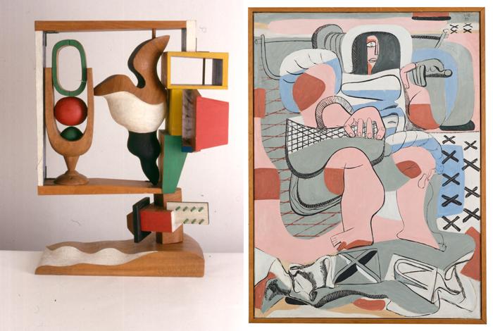 Changement des œuvres de l'exposition Le Corbusier