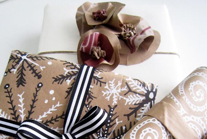 Atelier créatif «Paquets cadeaux»