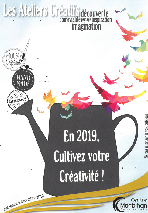 Ateliers créatifs de Centre Morbihan Communauté