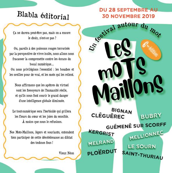 Festival Les Mots Maillons