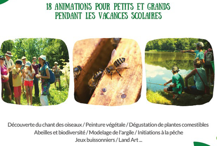 Les animations nature de Centre Morbihan Tourisme