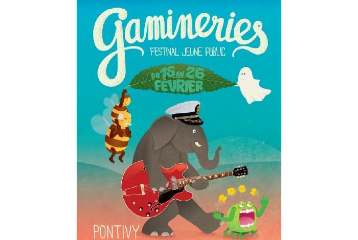 Festival des Gamineries du 15 au 26 février à Pontivy