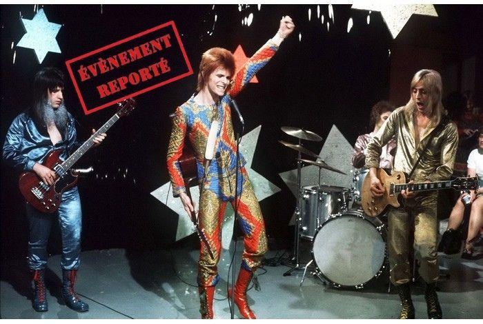 Report Concert pédagogique de David Bowie
