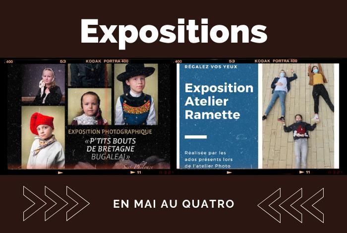 Les expositions du mois de mai…