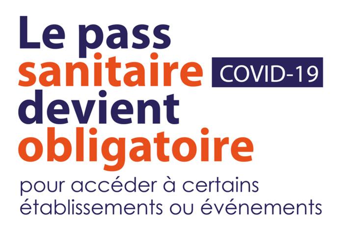 Pass sanitaire Covid 19