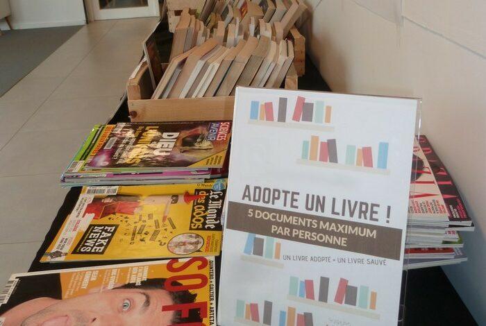 Opération «Adopte un livre»