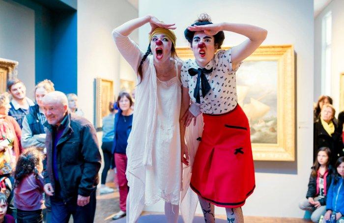 Nuit des musées: les clowns au musée