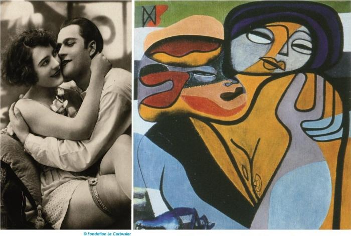 Vernissage de l'exposition «Le Corbusier, de la carte postale à l'œuvre d'art»