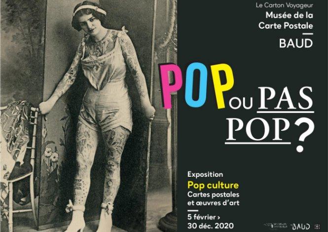 Visite guidée de l'exposition POP ou pas pop ?
