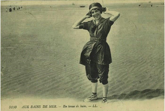 L'histoire du maillot de bain féminin – en ligne
